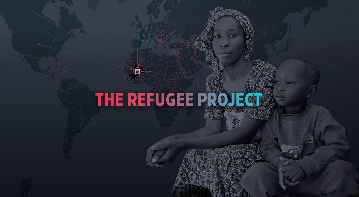 Mapping 40 years of global refugee migrations